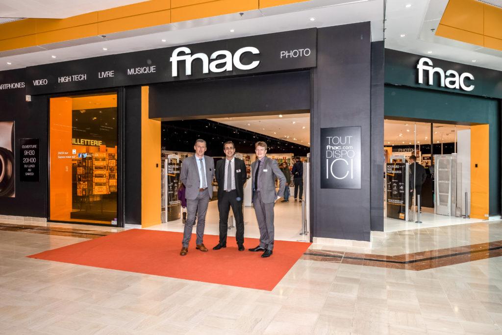 Fnac Douai Centre commercial Carmila