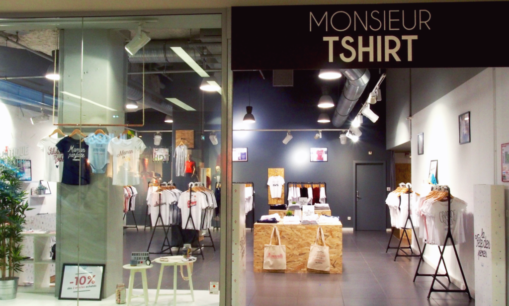 Pop-up Monsieur TShirt