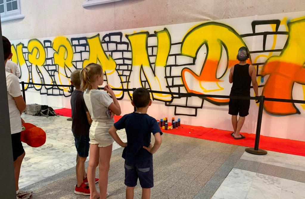 Carmila - Animation Urban Days au Centre Commercial Athis-Mons - Graffeur