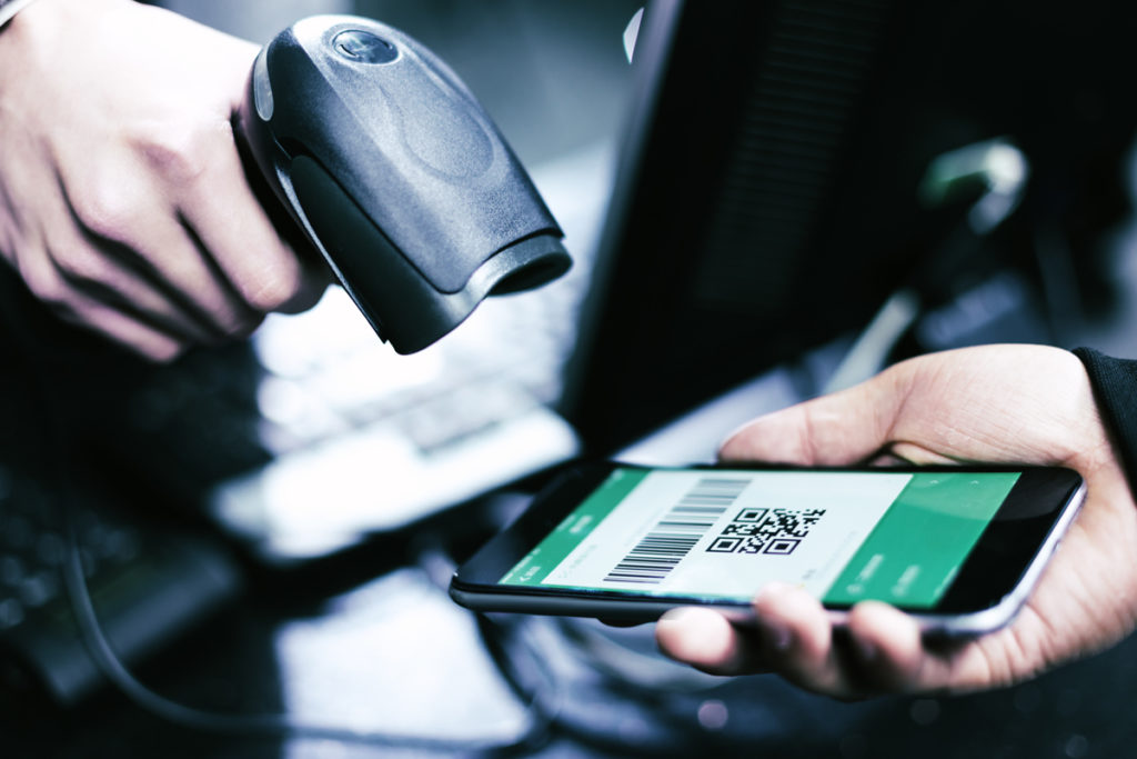 Paiement avec Portefeuille électronique en magasin