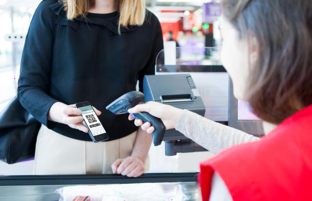 Payer en magasin sans contact avec lyfpay