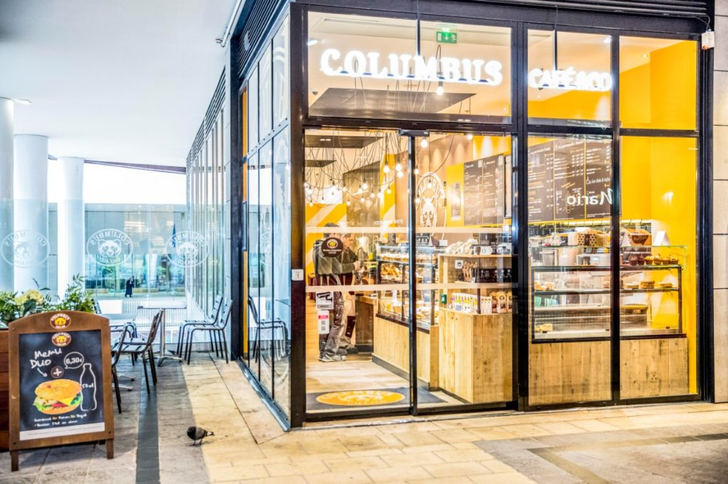 Columbus café en livraison et click and collect - interview
