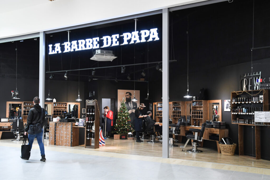 la Barbe de Papa salon coiffure barbier