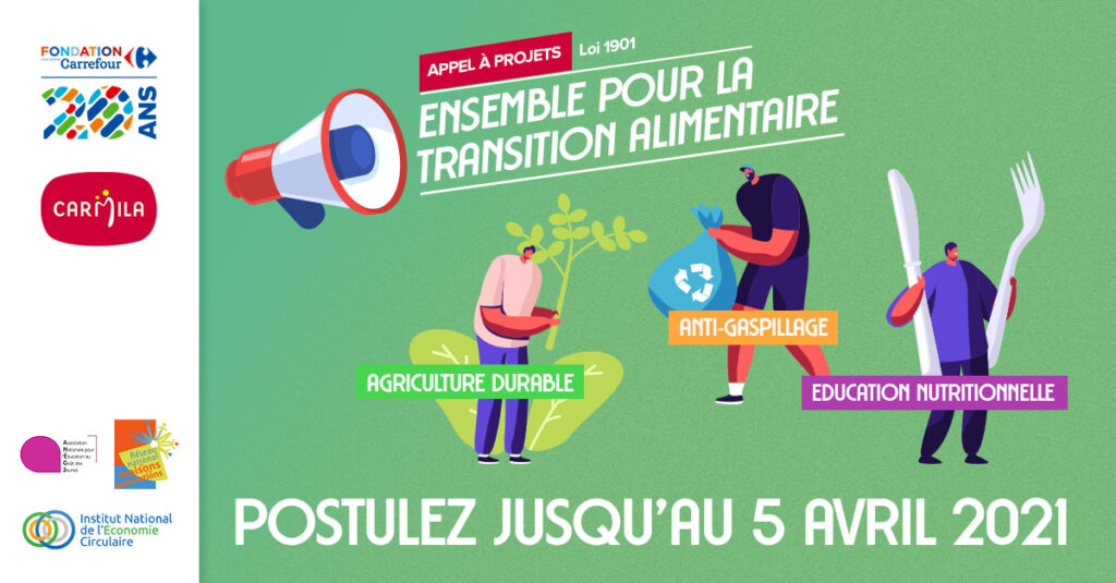 Appel à projet Fondation Carrefour et Carmila